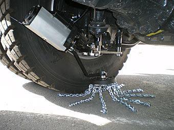Automatyczne łańcuchy antypoślizgowe ROTACHAIN do pojazdów ciężarowych, nr kat. 291.603.999 - zdjęcie 1