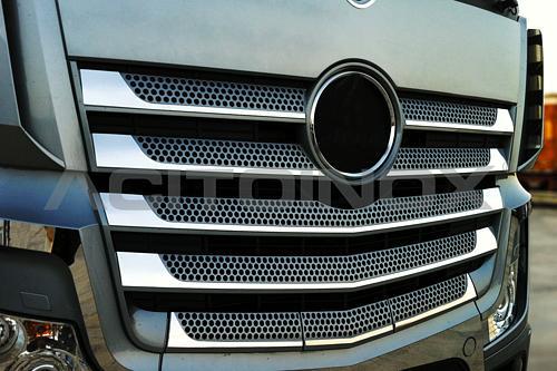Listwy ozdobne na grill do Mercedesa Actros MP4, nr kat. 174009MC12AC - zdjęcie 1