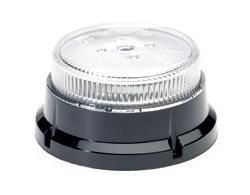Kogut niski LED (3 śrubki, białe szkło, R65), nr kat. 1310013 - zdjęcie 1