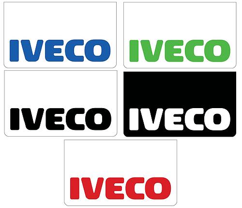 Chlapacz (600x350mm) - zielony napis IVECO, nr kat. 46500539 - zdjęcie 1