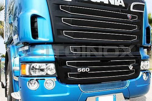 Zestaw ramek atrapy do Scania, nr kat. 174011S/NR2 - zdjęcie 1