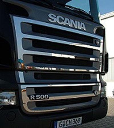 Listwy ozdobne na grill do Scania R bez V8, nr kat. 17TD157SC.26 - zdjęcie 1