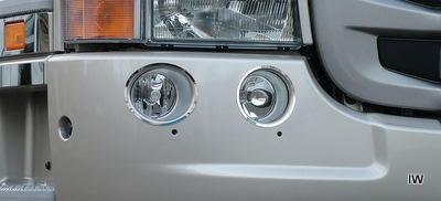Kontur świateł dodatkowych (listwy ozdobne ze stali nierdzewnej) do Scania R, nr kat. 17TD157SC.36 - zdjęcie 1