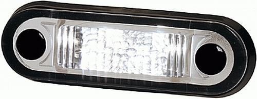Światło obrysowe LED (pomarańczowe, szkło białe), nr kat. 2PS 959 788-107 - zdjęcie 1
