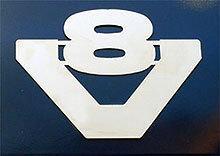 Element ozdobny V8 (rozmiar II: 360mm x 288mm, stal nierdzewna), nr kat. 17TD157SC.02-2 - zdjęcie 1
