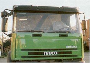 Zestaw montażowy do IVECO Eurotech/Trakker Cursor ,all cabins, nr kat. 145132B222/145133B222/145138B222 - zdjęcie 1