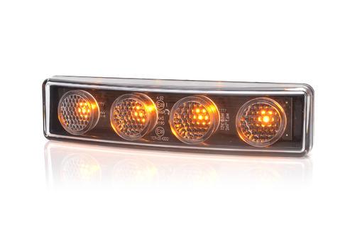 13.1422/I.2 Światło obrysowe LED (pomarańczowe) do osłony preciwsłonecznej SCANIA R, STREAMLINE ze złączem MCP - zdjęcie 1