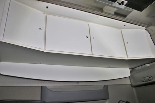 Szafka czterodrzwiowa na tył kabiny do DAF XF Super Space Cab (biała), nr kat. 268504ES402U15 - zdjęcie 1