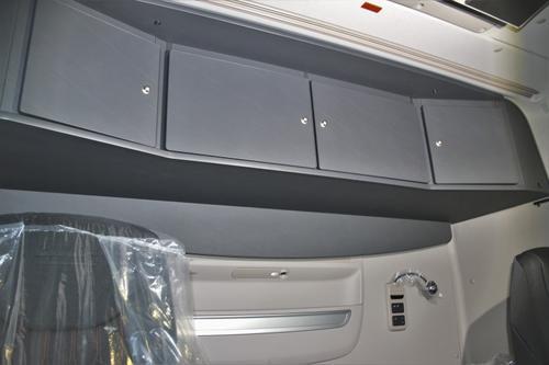 Szafka czterodrzwiowa na tył kabiny do DAF XF Space Cab (antracyt), nr kat. 265104ES413U00 - zdjęcie 1