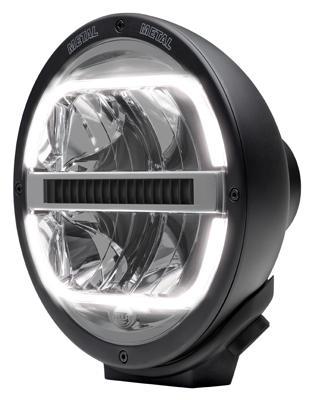 1F8 016 560-001 Reflektor HELLA Luminator FULL LED z listwą chłodzącą 12/24V ECE 25 Metal - zdjęcie 1