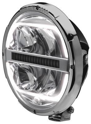 Reflektor HELLA Rallye 3003 FULL LED (12/24V, z listwą chłodzącą, ECE 25), nr kat. 1F8 016 797-001 - zdjęcie 1