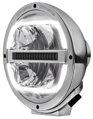 1F8 016 560-031 Reflektor HELLA Luminator FULL LED z listwą chłodzącą 12/24V ECE 50 Chromium - zdjęcie 1