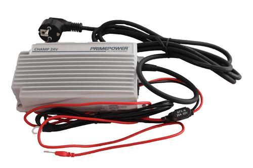 2200438502 Ładowarka akumulatorów CHAMP IP65 24V 12A 230V 50Hz IP65-zasilacz akumulatorów - zdjęcie 1