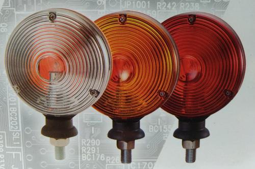 2646353403RO Lampa pozycyjna - mysie uszy (czerwono-pomarańczowe) - zdjęcie 1