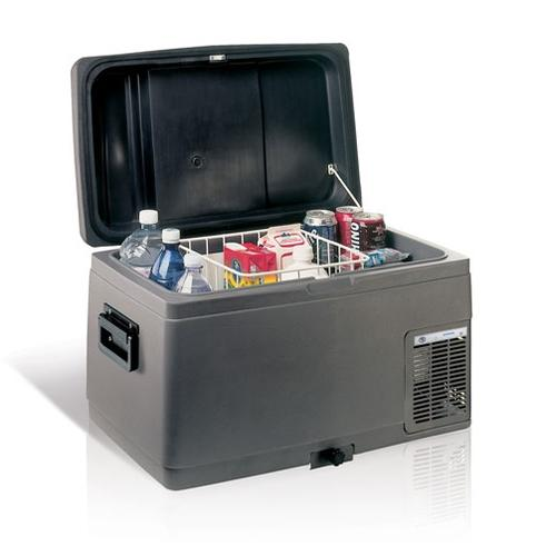 C41L 12/24V, przenośna lodówko-zamrażarka sprężarkowa 41 litrów, zakres temp.: -10 do +5 st. C z rączką - zdjęcie 1