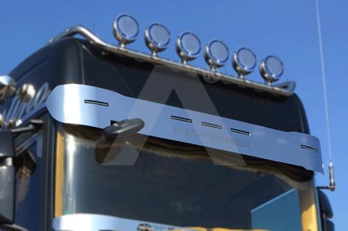 Osłona przeciwsłoneczna (stal nierdzewna) do SCANIA S, nr kat. 174AP002SNS-2 - zdjęcie 1