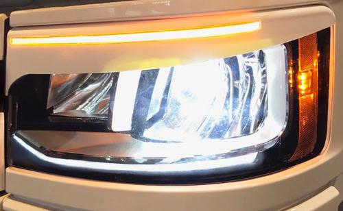 14TSSEYELIDS Wykończenie lamp przednich brwi Scania S&R 2016- do reflektorów LED - zdjęcie 1