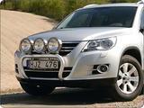 10X900090 Osłona czołowa X-rack VW Tiguan Sport & Style 08-; dla 3 lamp art.nr X900090