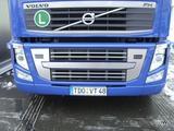 Listwy ozdobne na grill na malowane części (stal nierdzewna) do Volvo FH III >2008, nr kat. 17TD157VO.24.4