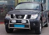1182318022 Osłona Czołowa A-Form, 60mm, pol. dla Nissan Navara 06-  !HOMOLOGACJA EU!