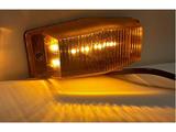 1346350274L Double Burner LED - pomarańczowy