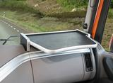 2650DA19U122 Półka na prawą stronę deski DAF XF Euro 6, 04/2013 - (kolor - black/aluminium)