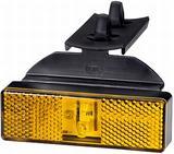 2PS 008 643-011 Obrysówka boczna 24V LED z uchwytem kątowym