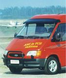 1430312222 osłona przeciwsłoneczna+zestaw montażowy FORD Transit 1986-1999, dach średni/wysoki