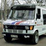 1430432222 osłona przeciwsłoneczna  +zestaw montazowy MB T1 210/410 kabina standard(v)