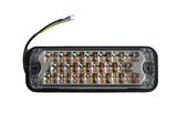 Lampa LED (20 diod, 12/48V, 15 rodzajów błysków, pomarańczowe światło, R65, R10), nr kat. 133812A22