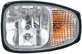 1EE 996 174-211 Reflektor lewy Combi 220 z żarówkami 12V (H3/H7/PY21W/T4W)