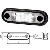 2PF 959 590-202 Światło pozycyjne białe LED 79x26 mm z przewodem 0.5 m
