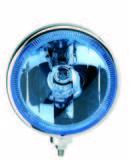 L28.01.24V Reflektor drogowy 8, Chrom niebieski,pozycja LED(BR)