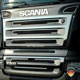 Listwy ozdobne na grill (stal nierdzewna) do Scania R, nr kat. 17TD157SC.28