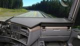 2650SC162 Duża półka na środkową konsolę i prawą stronę deski Scania R2 (10/2009-)