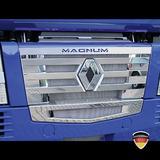 Listwy ozdobne na grill z napisem MAGNUM (stal nierdzewna) do Renault Magnum >08, nr kat. 17TD157RE.22-4